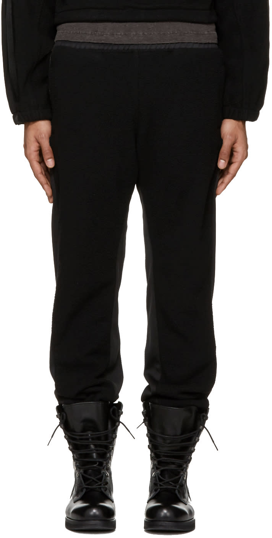 Yeezy Black Fleece Jogger Lounge Pants