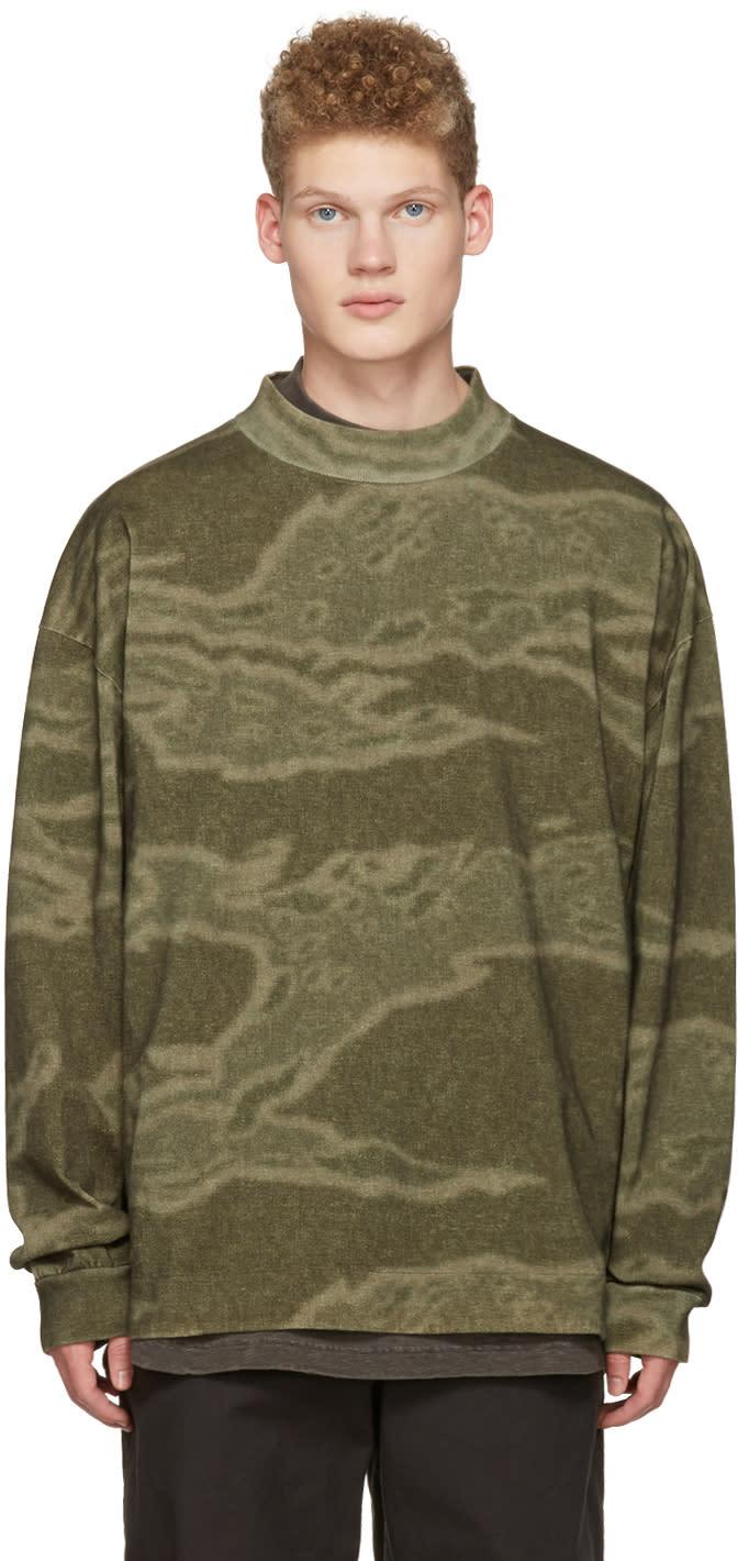 Yeezy Green Moto Long Sleeve T-shirt