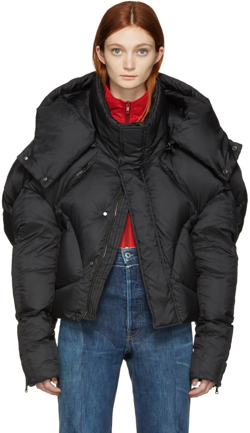 Chen Peng Black Down Jacket