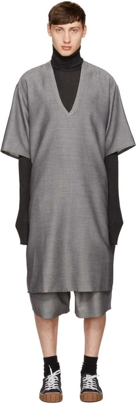 Bless Grey Lovneck Dress