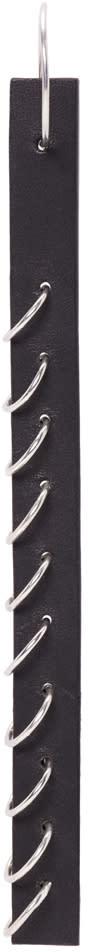 Ribeyron Black Long Pierced Earring
