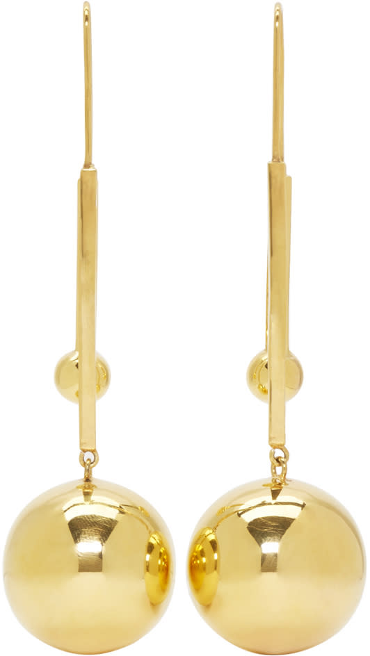 Image of Prim By Michelle Elie Gold Vici 25 Earrings