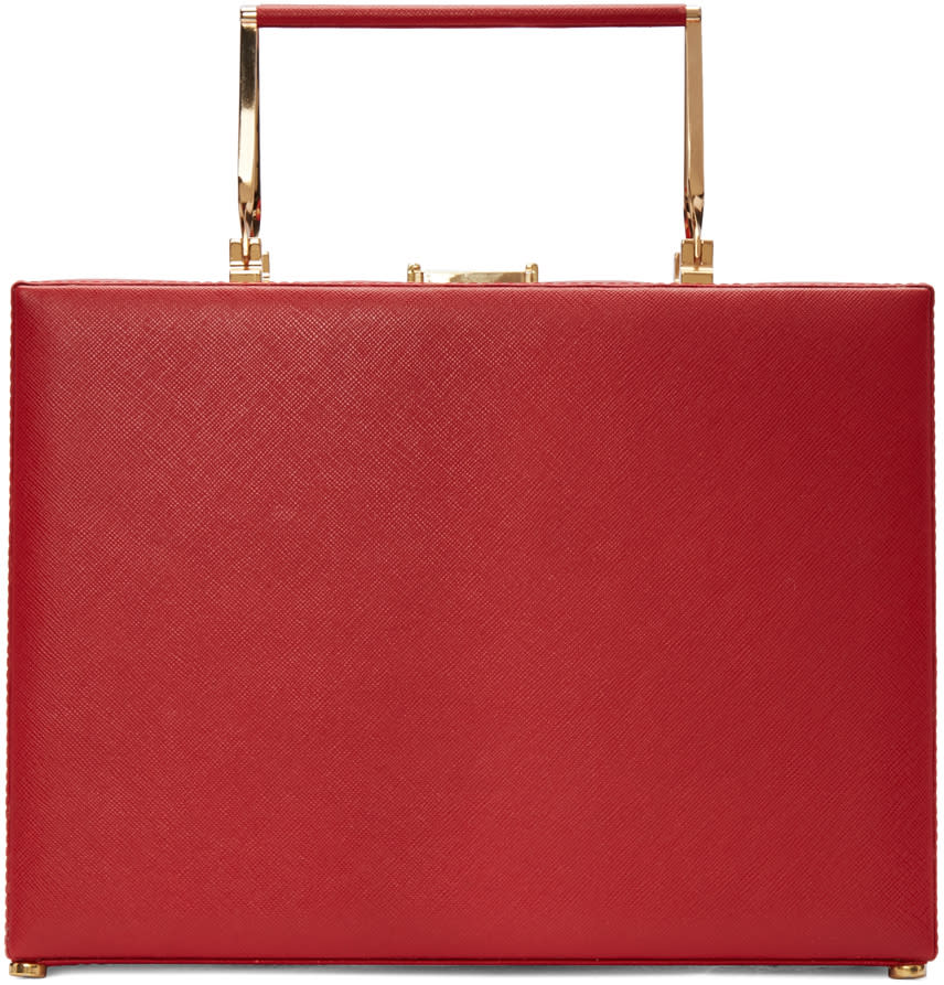 Prim By Michelle Elie Red Charlotte Bag