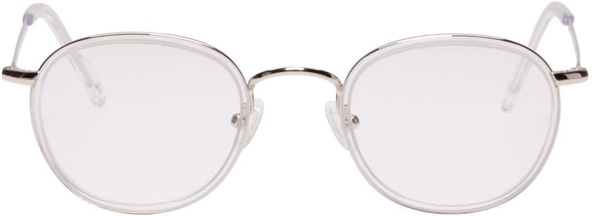97ea857c4f All In Eyewear Silver Round Optical Glasses