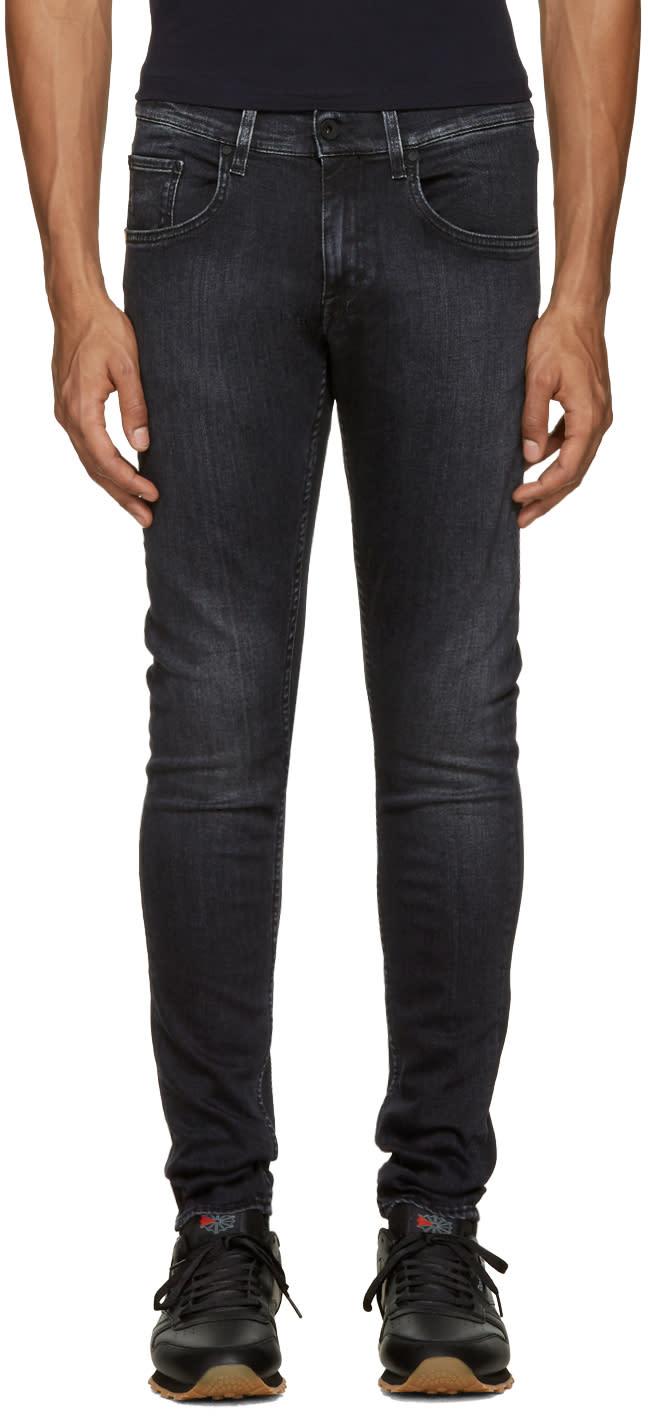 Tiger Of Sweden Jeans ブラック スリム ジーンズ