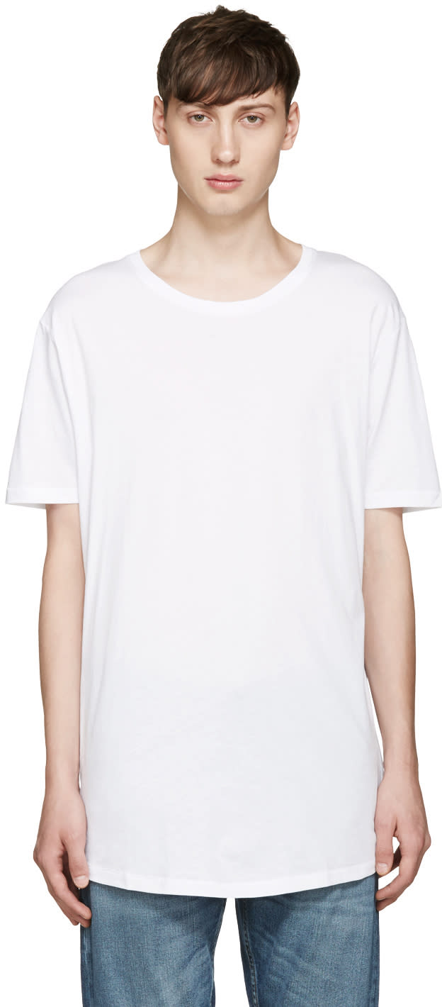 Tiger Of Sweden Jeans White Corey Sol T-shirt