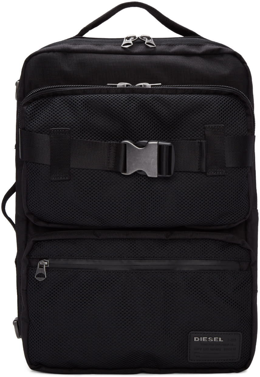 Diesel Black M-cargo Backpack
