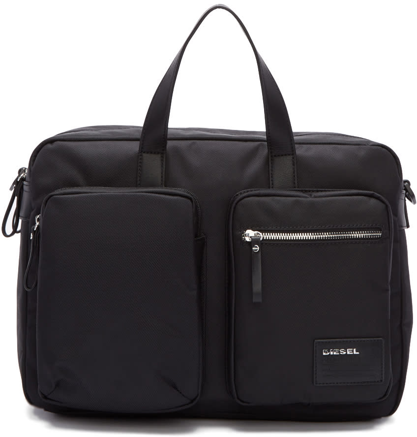 Diesel Black Crash Briefcase