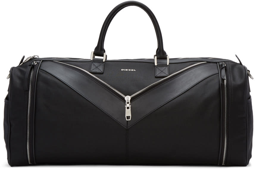 Diesel Black Mr. V Duffle Bag