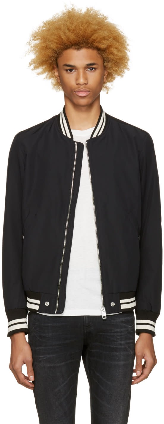 Diesel Black J-radical Bomber Jacket