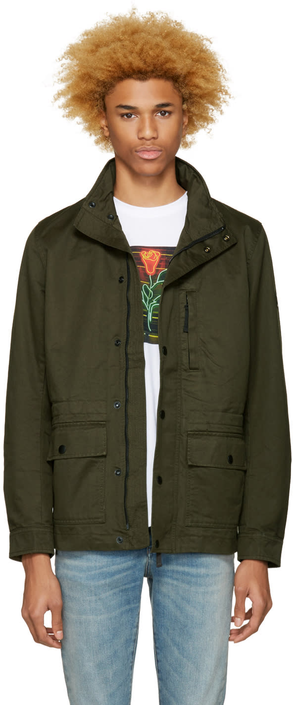 Diesel Green J-wines Jacket