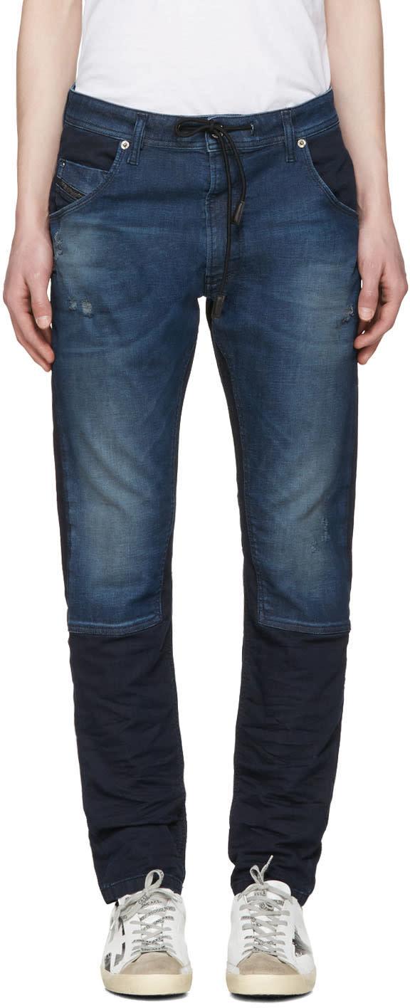 Diesel Blue Krookley-ne Jogg Jeans