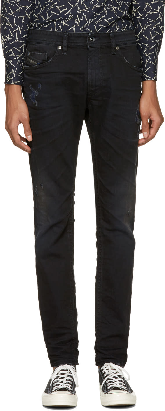Diesel Blue Thommer L.32 Jeans