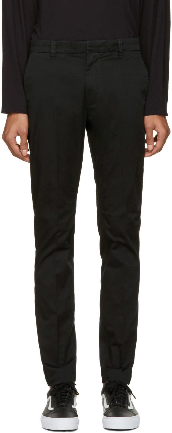 Image of Diesel Black Chi-driver Trousers