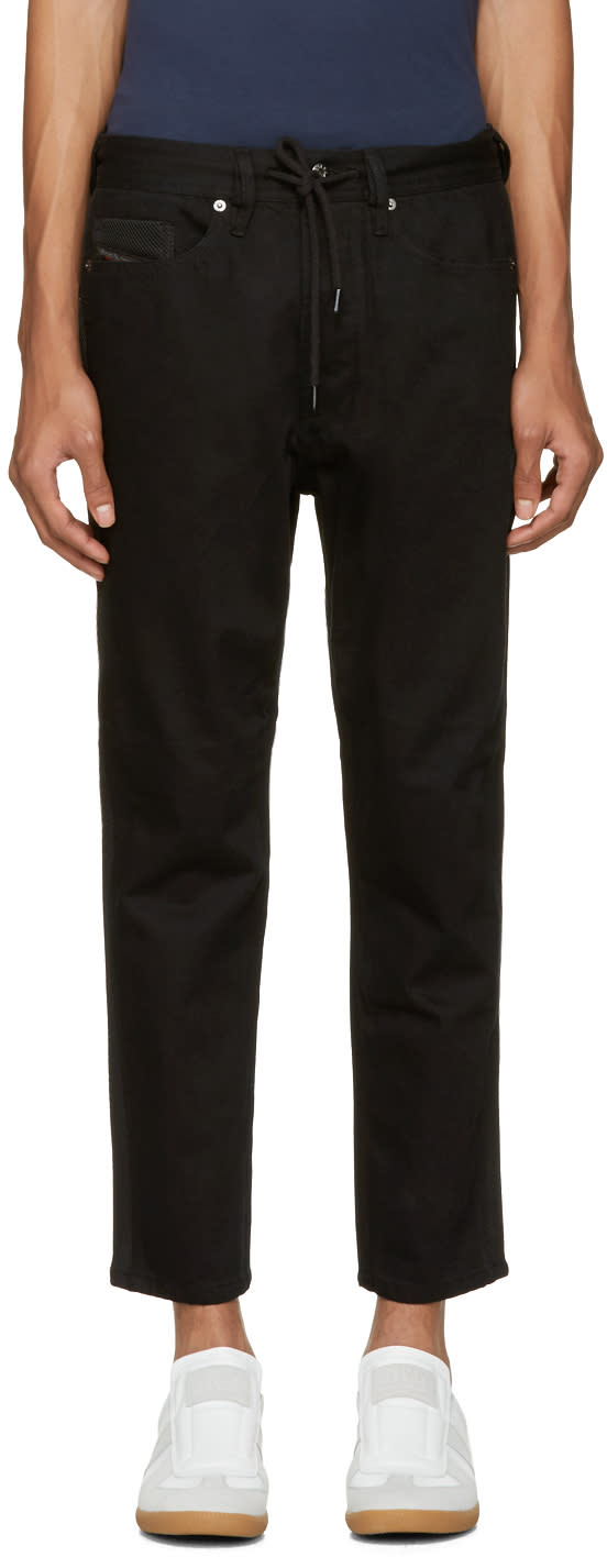 Diesel Black D-ray Trousers