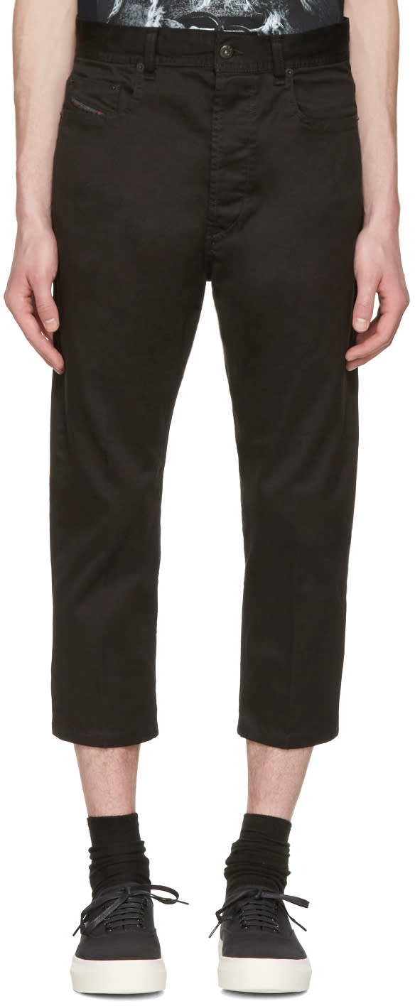 Diesel Black D-brad-a Trousers