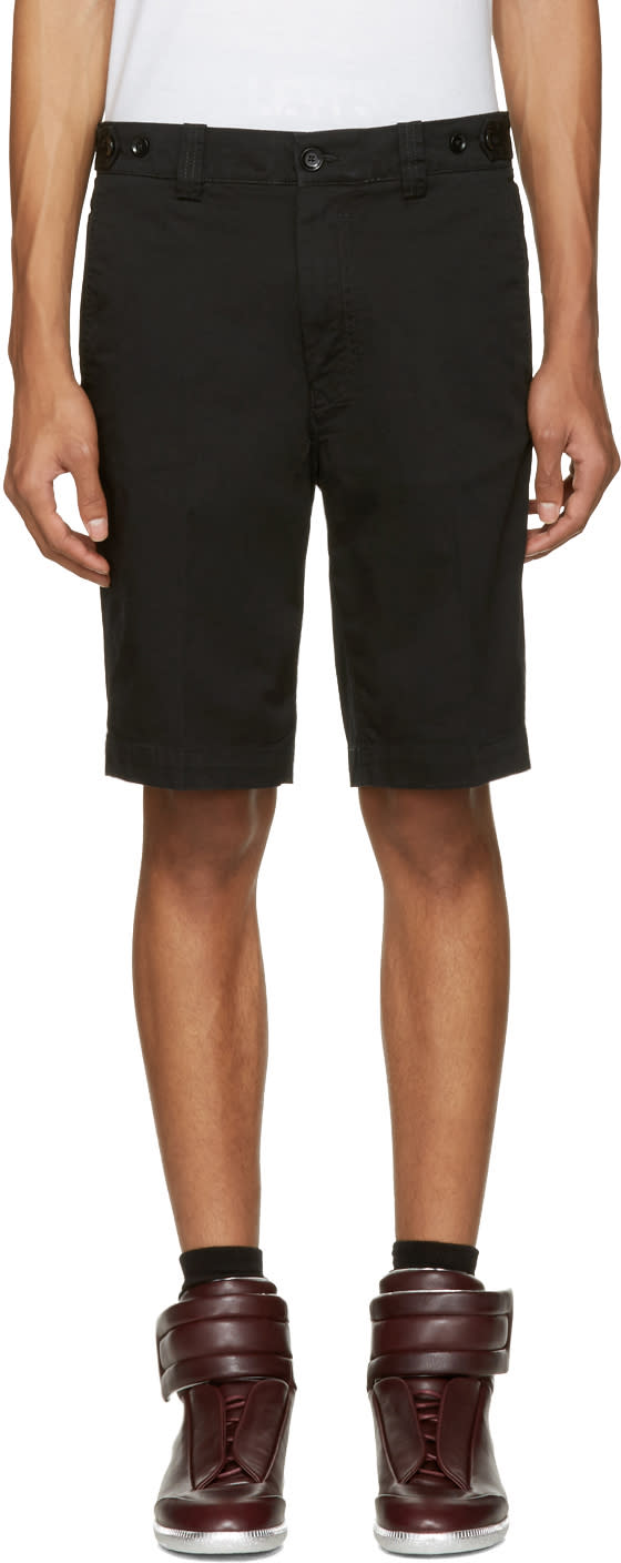 Diesel Black Chi-burial Shorts