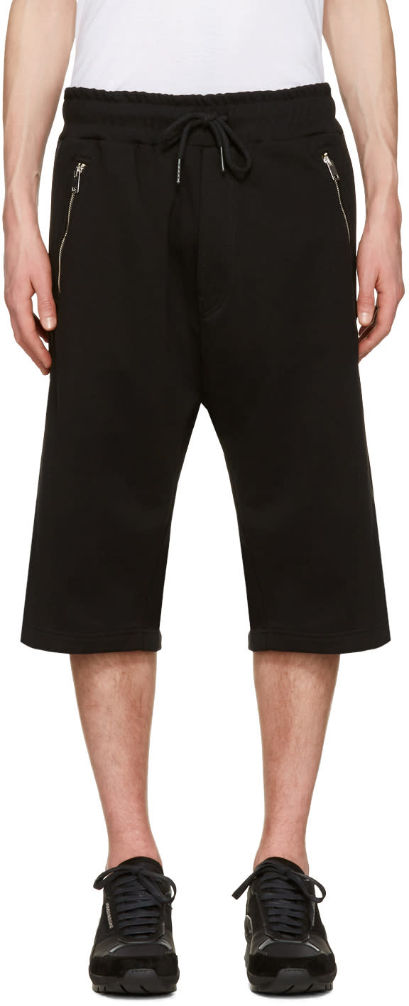 Diesel Black P-mike Shorts