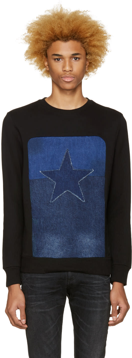 Diesel Black S-david Sweatshirt