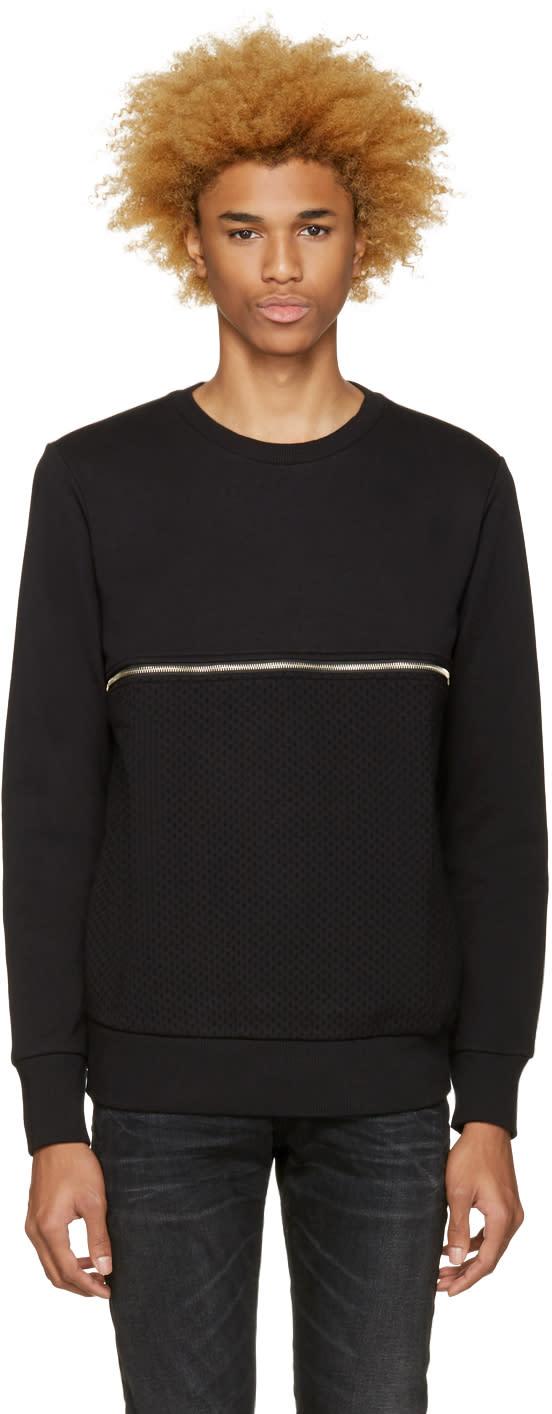 Diesel Black S-dry Zip Pullover
