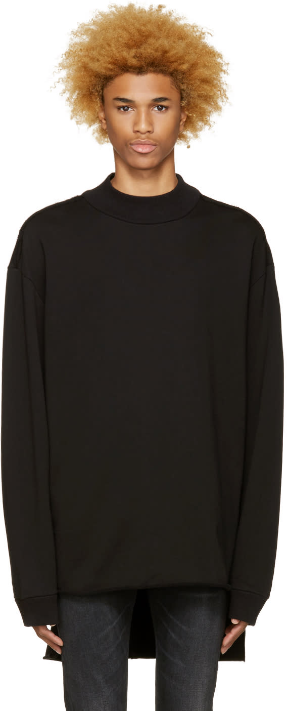 Diesel Black Sweat 2-ed Pullover