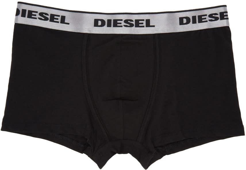 Diesel Black Umbx-dirck Boxer Briefs