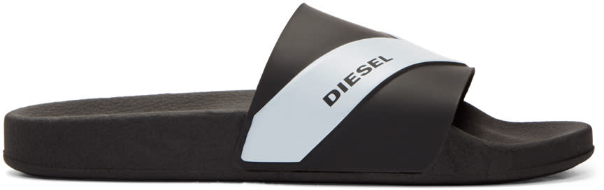 Diesel Black Sa-maral Sandals