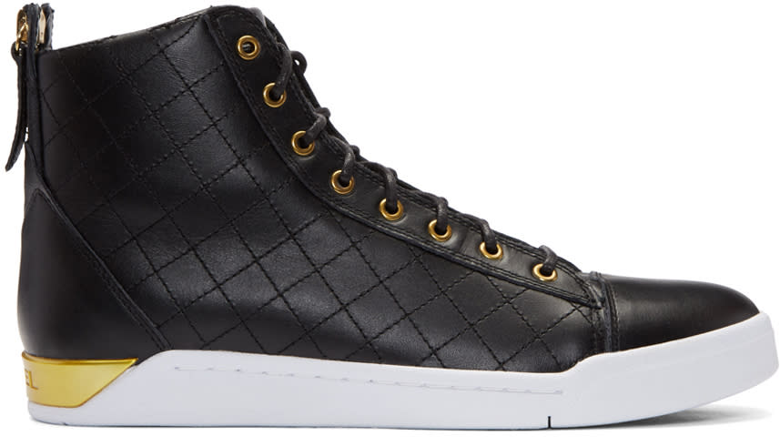 Diesel Black Diamond High-top Sneakers