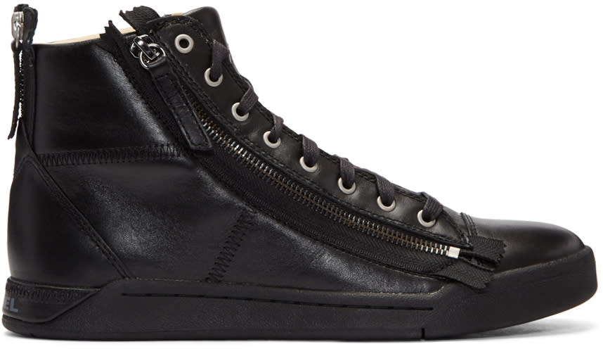 Diesel Black S-diamzip High-top Sneakers