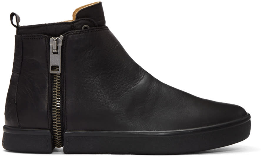 Diesel Black S-leeve High-top Sneakers