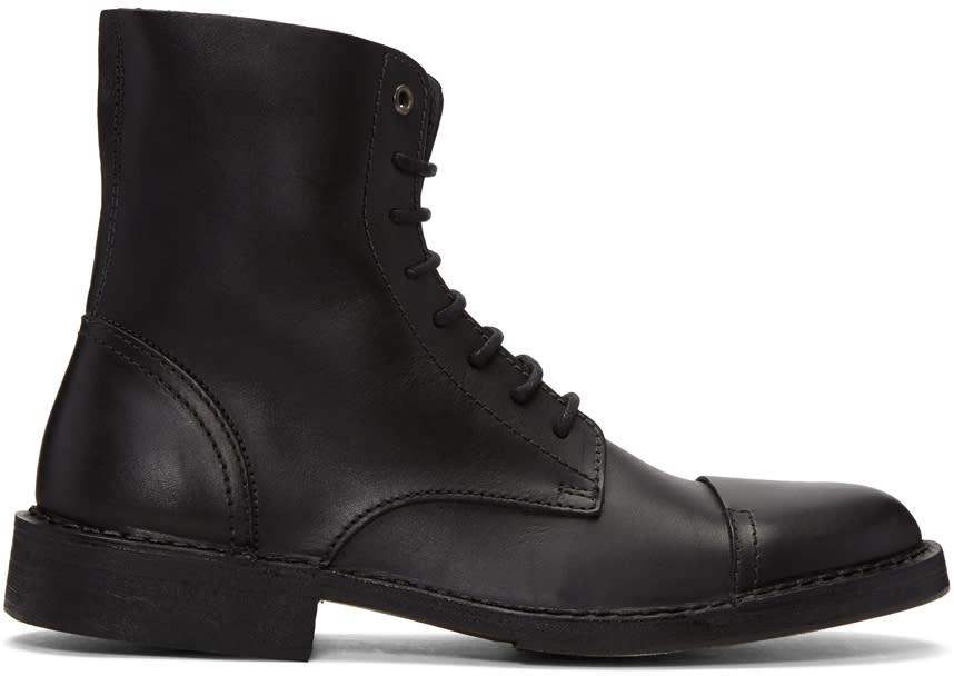 Diesel Black D-pit Boots