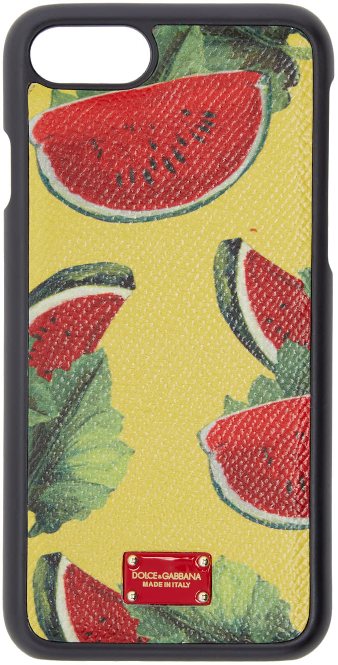 Dolce and Gabbana Multicolor Watermelon Iphone 7 Case