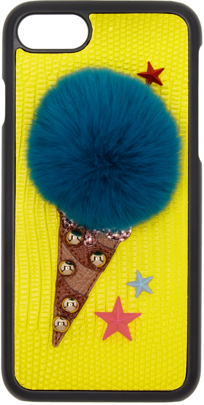 Dolce and Gabbana Yellow Gelato Iphone 7 Case
