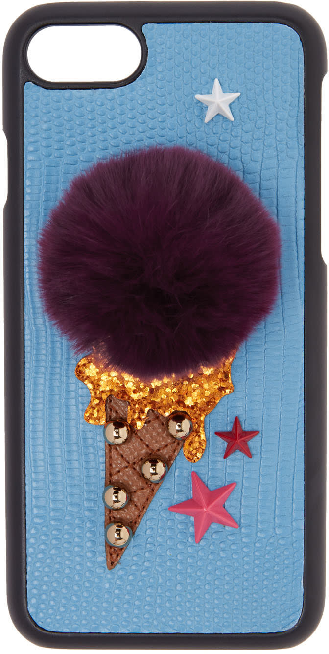 Dolce and Gabbana Blue Gelato Iphone 7 Case