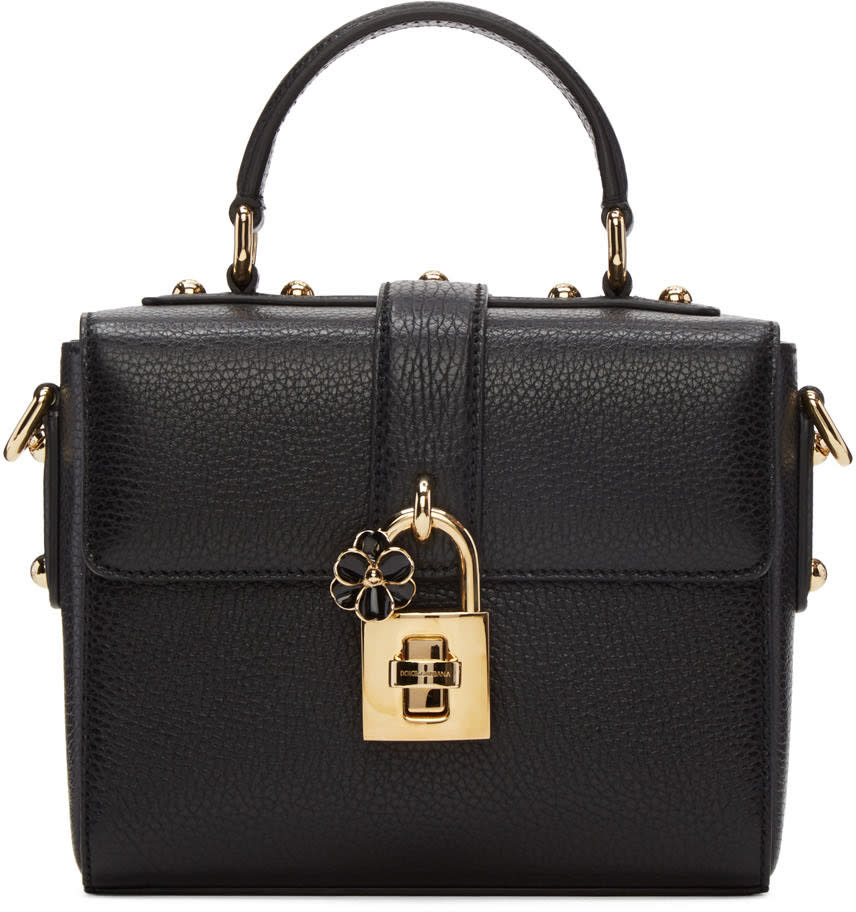 Dolce and Gabbana Black Small dolce Soft Bag