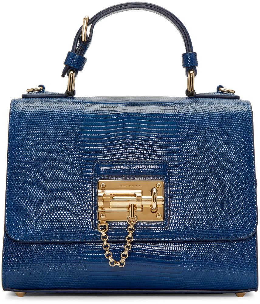 Dolce and Gabbana Blue Monica Bag