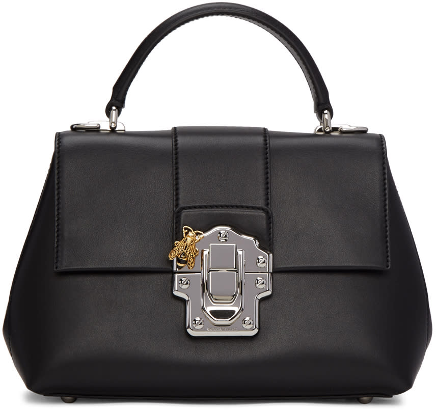 Dolce and Gabbana Black Small Lucie Bag