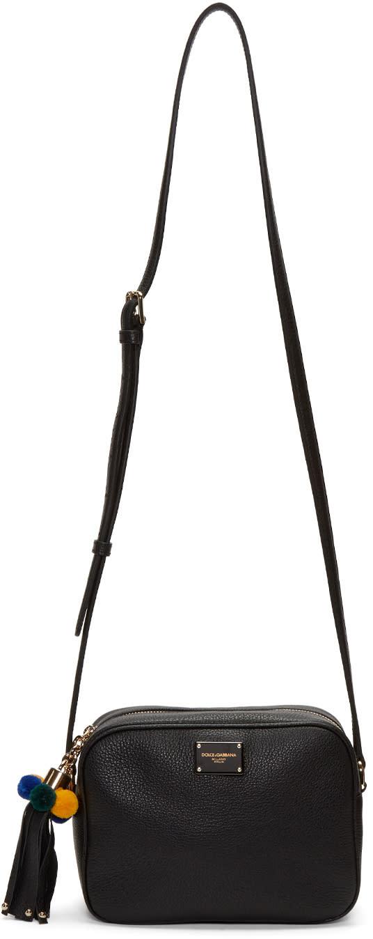 Dolce and Gabbana Black Ladybug Camera Bag
