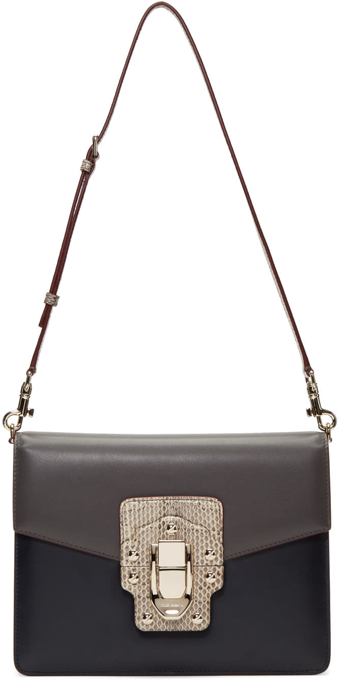 Dolce and Gabbana Grey Lucia Bag