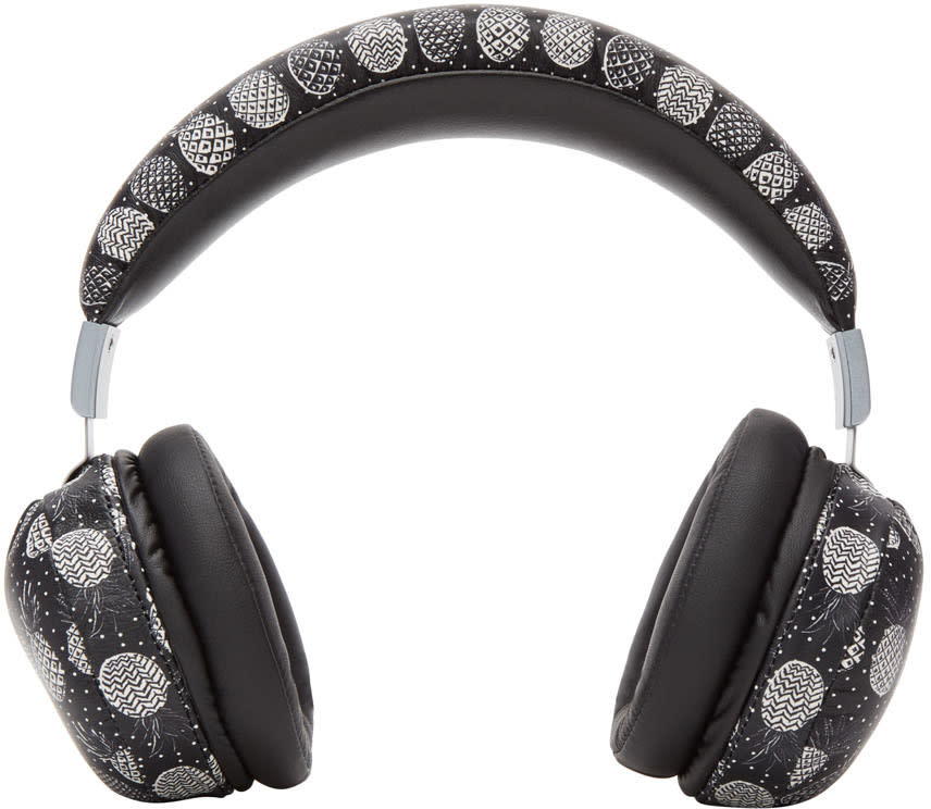 Dolce and Gabbana Black Pineapple Headphones