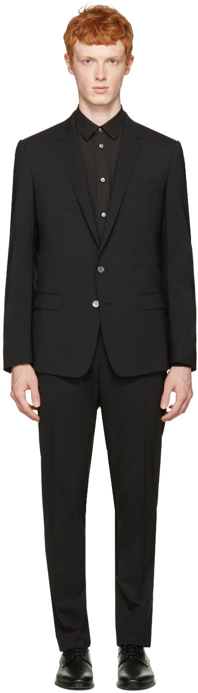 Dolce and Gabbana Black Martini Suit