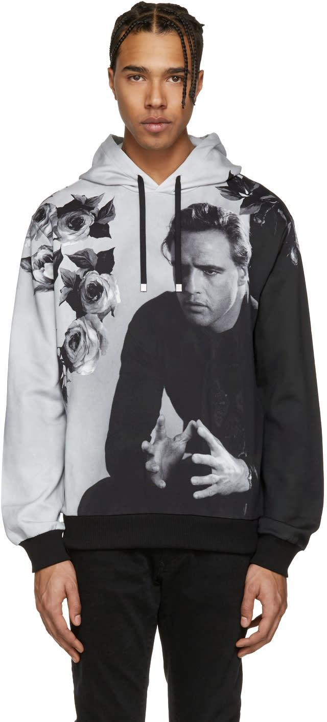 Dolce and Gabbana Grey Marlon Brando Hoodie