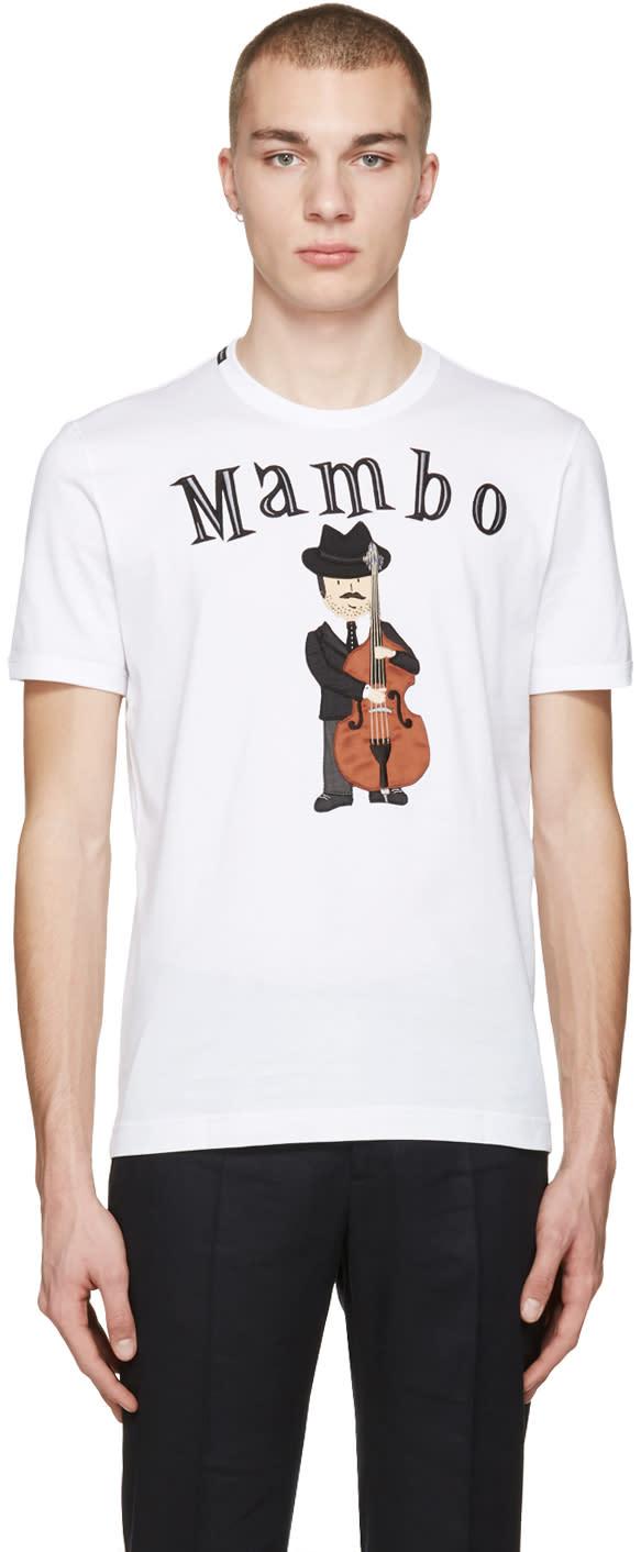Dolce and Gabbana White mambo T-shirt