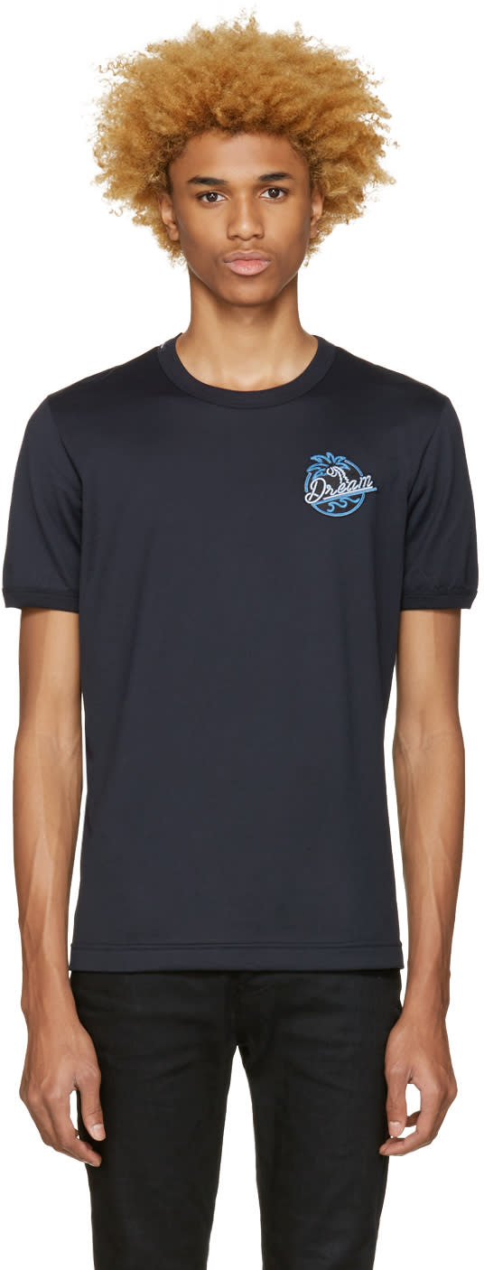 Dolce and Gabbana Navy dream T-shirt