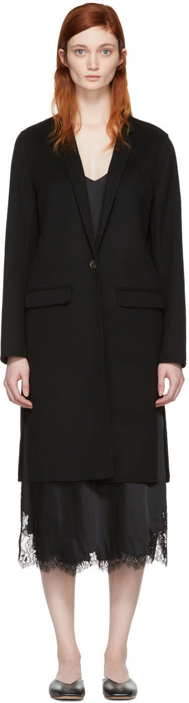 Mackage Black Wool Hensley Coat
