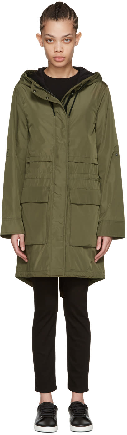 Mackage Green Cosima Rain Coat