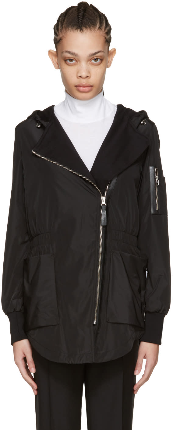 Mackage Black Cam Rain Jacket