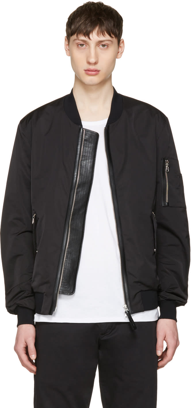 Mackage Black Ragnar Bomber Jacket