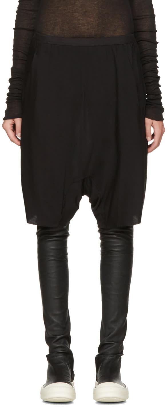 Rick Owens Lilies Black Boxer Shorts