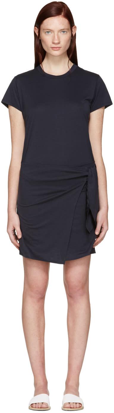 Rag and Bone Navy Andie T-shirt Dress